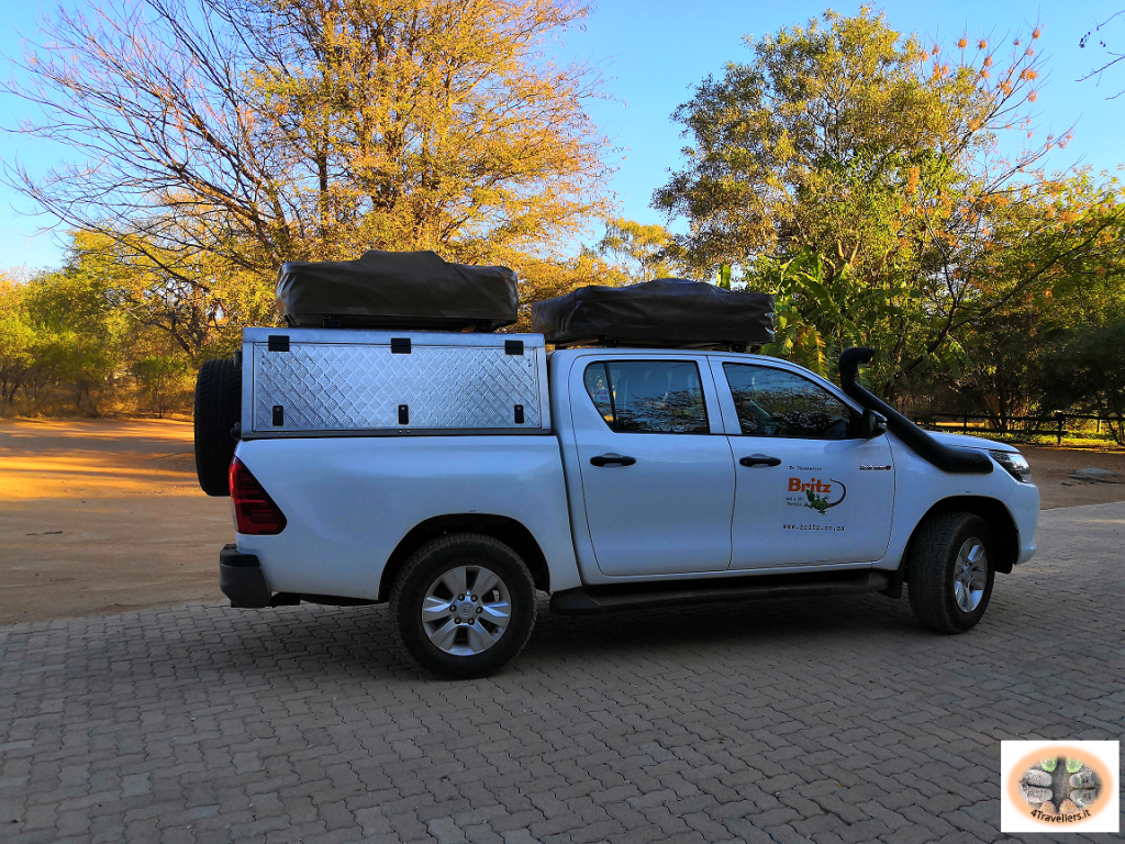 Botswana - il nostro fuoristrada