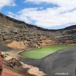 Lanzarote – Charco de los Clicos o Lago Verde